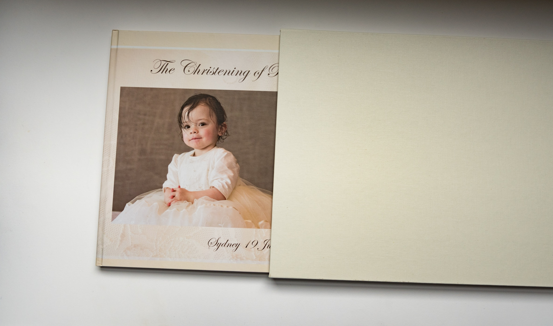A christening book