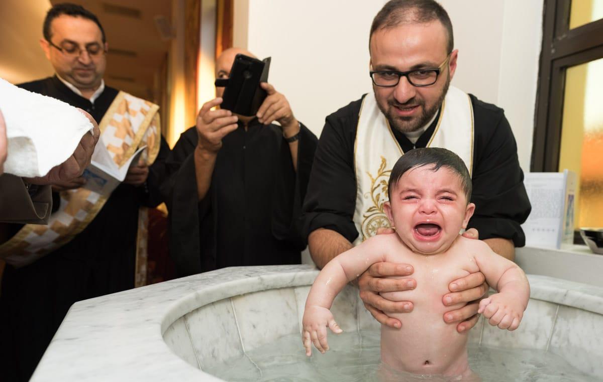 Luke's baptism at St Nicholas Church
